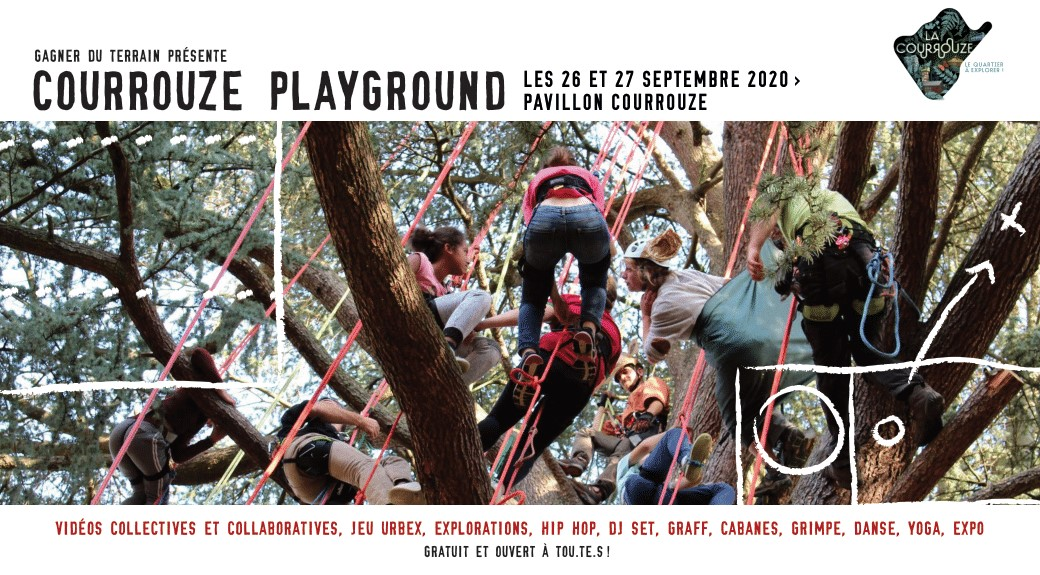 COURROUZE PLAYGROUND - Le grand jeu d'exploration